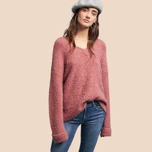 Anthropologie Sleeping On Snow Oversized Sweater